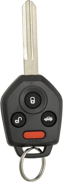 Subaru 4 Button Remote Head Key (4B1) - By Ilco