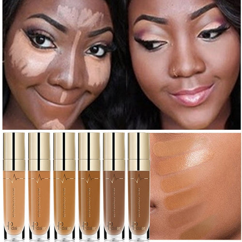 Full coverage cream foundation for a flawless finish. - olalace