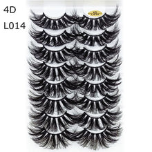 Load image into Gallery viewer, 8 Pairs! 3D Mink Handmade Eyelashes Natural Wispy Fluffy Dramatic Volume Lashes - Hellosis.com