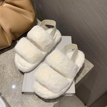 Load image into Gallery viewer, Soft lush furry slippers - Hellosis.com