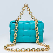 Load image into Gallery viewer, Gold chain soft square bags - olalace