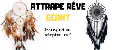 Attrape rêves géant article de blog