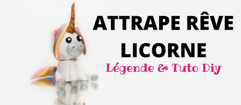article de blog attrape rêve licorne