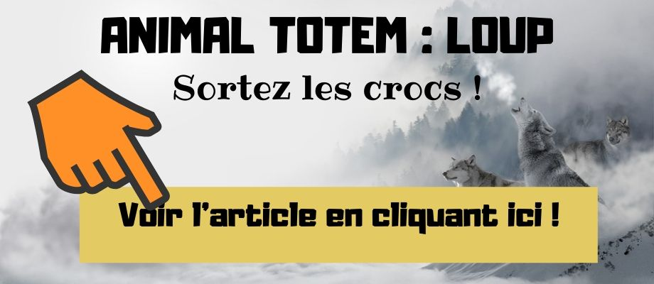 article animal totem du loup