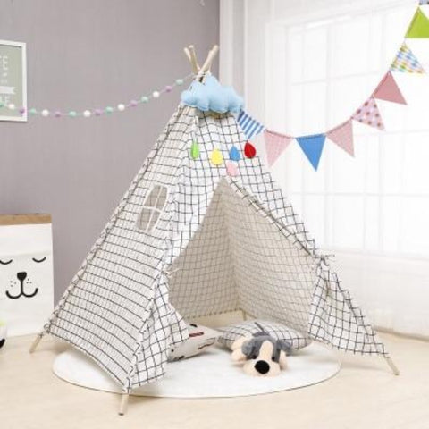 Tipi Enfant Construction Indienne