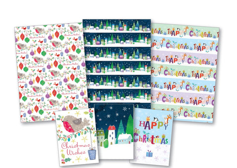 Gift Wrap and Tags Illustrated