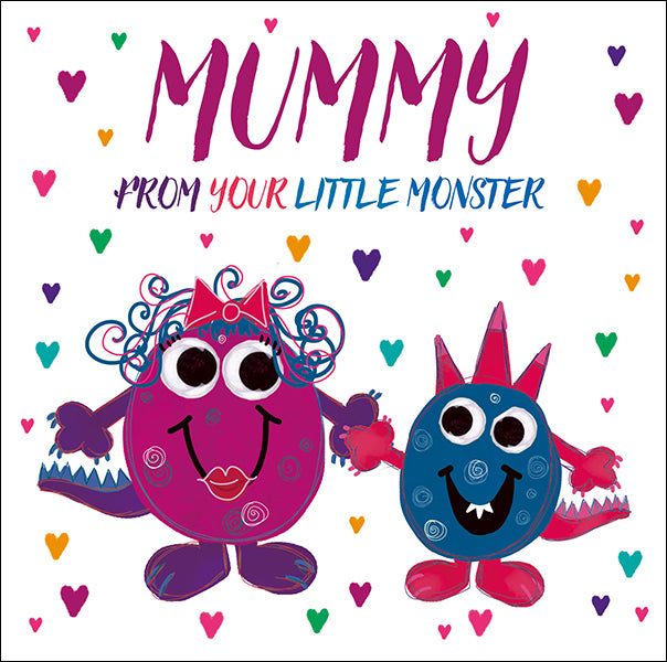 From Your Little Monster Mother's Day Card