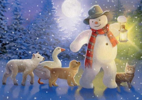 Snowman's Friends - pack of 10