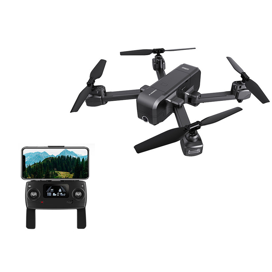 MJX R/C Technic X103W GPS Folding RC Drone RTF Point of Interest / Following Mode Mechanical Gimbal Stabilization 2K Camera Dron