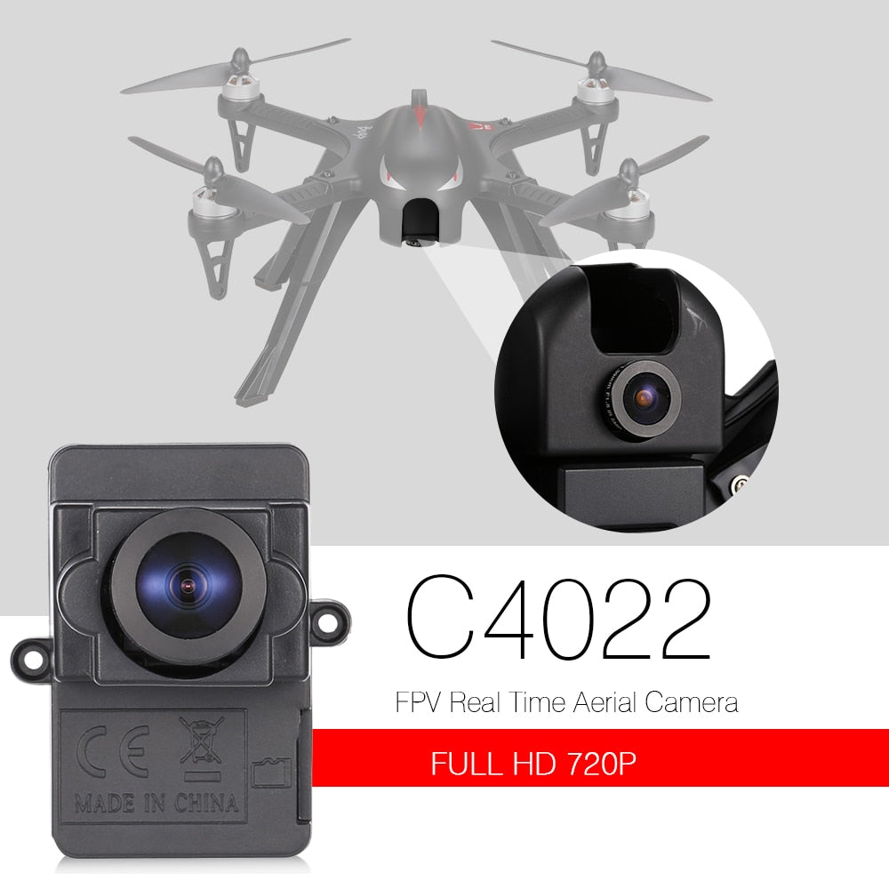 MJX C4022 WiFi FPV 720P Full HD Real Time Aerial Camera with 8GB Card for B3 B6 RC Quadcopter Dron RC Drone Part kamera