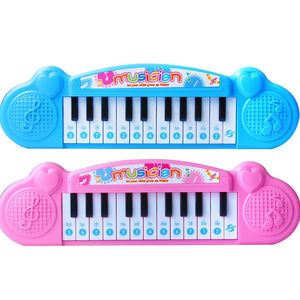 Micro for-CHILDREN'S Electronic Keyboard Beginners Baby Early Childhood Music Toy GIRL'S Infants Small Piano
