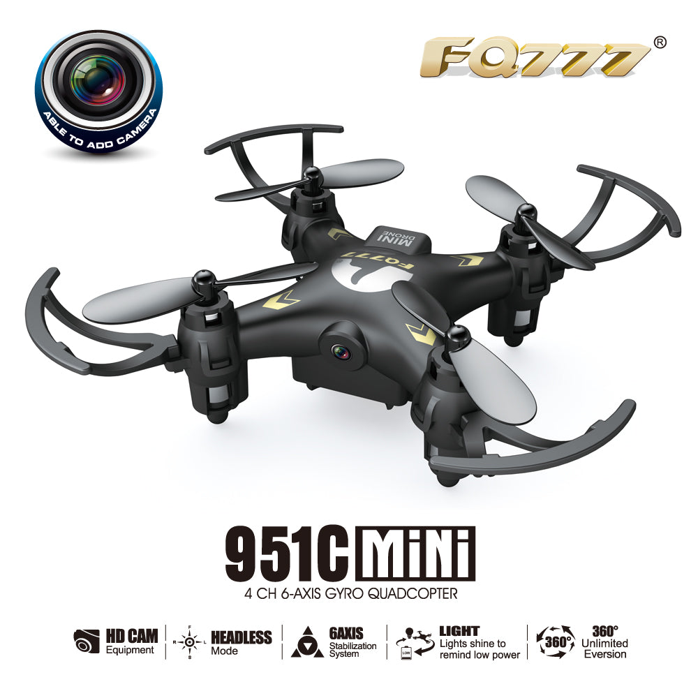 Quadrocopter Dron FQ777-951C 951C Drone with 0.3MP camera 6Axis Quadcopter With Switchable Controller UAV RC Helicopter Mini HOT