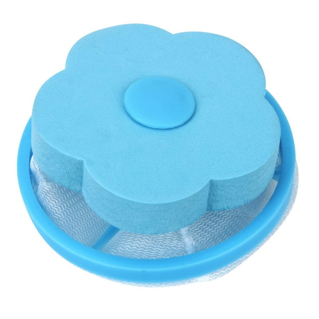 Hair Removal Catcher Filter Mesh Pouch Cleaning Balls Bag Dirty Fiber Collector Washing Machine Filter Laundry Balls Discs