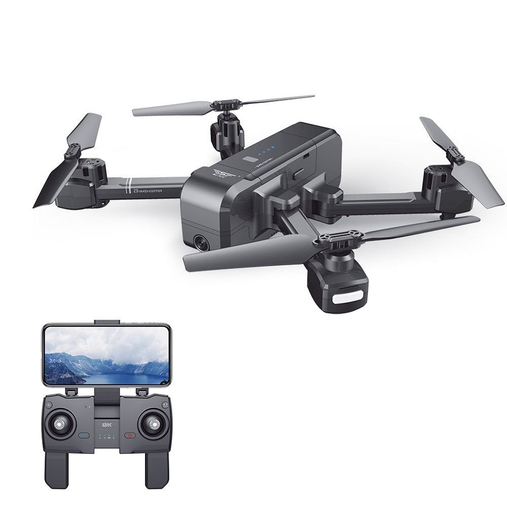 SJ Z5 1080P Drone with Camera GPS Return 5G Wifi FPV Drone Altitude Hold Follow Me RC Quadcopter Brushless Motor F11 Dron VS E58