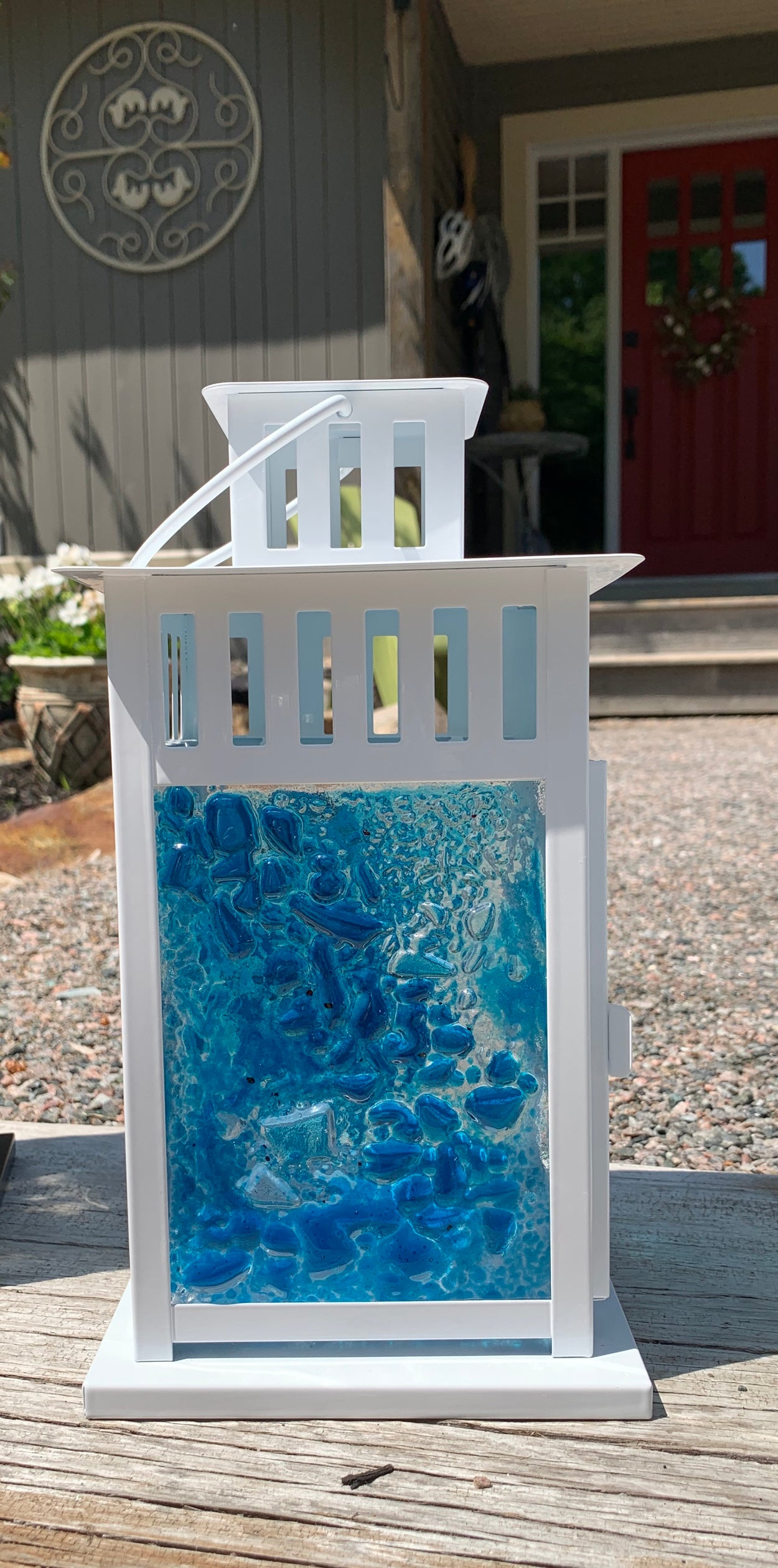 Soothing Blues Lantern