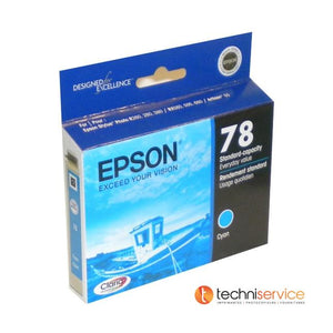 T078220S EPSON  CLARIA HIDEF INK CYAN