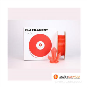 FCSPomegranate Tinkerine 1.75mm Transparent Red PLA Filament