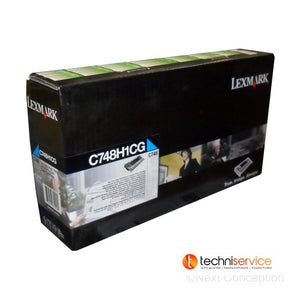 C748H1CG LEXMARK C748 CYAN HIGH YIELD RETURN PGM TONER  10K