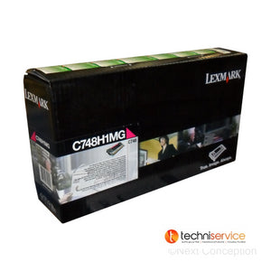 C748H1MG LEXMARK C748 MAGENTA HIGH YIELD RETURN PGM TONER  10K