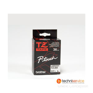 TZe261 (TZ261) PTOUCH TAPE 36MM BLACK ON WHITE