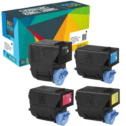 Compatibles Canon ImageRunner C2550 Cartouches de Toner 4 Pack à Haut Rendement par Do it Wiser