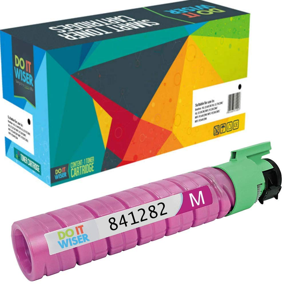Compatible Ricoh MP C2550 Cartouche de Toner Magenta par Do it Wiser