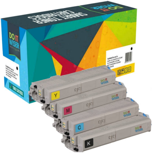 OKI Data MC573dn Toner Set a Extra Haut Capacite