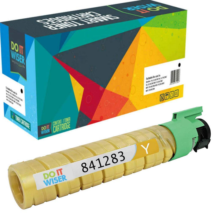Compatible Ricoh MP C2030 Cartouche de Toner Jaune par Do it Wiser