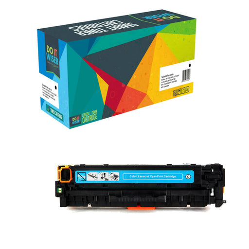 Compatible HP Color LaserJet Pro M254dw Cartouche de Toner Cyan à Haut Rendement par Do it Wiser