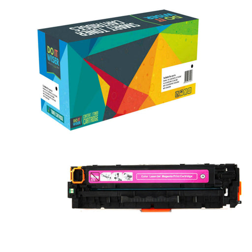Compatible HP Color LaserJet Pro M254dn Cartouche de Toner Magenta à Haut Rendement par Do it Wiser