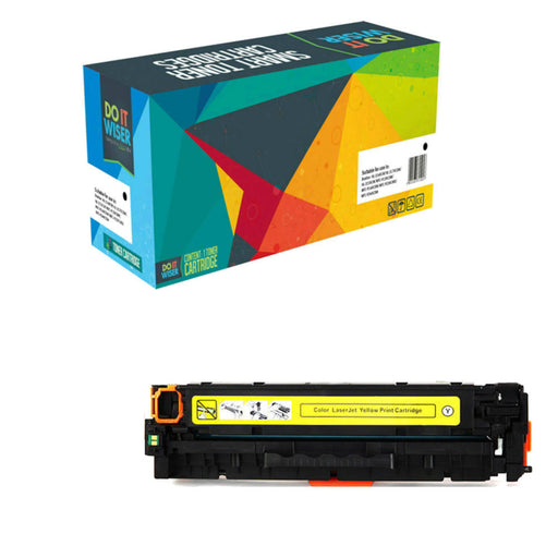 Compatible HP Color LaserJet Pro M254dn Cartouche de Toner Jaune à Haut Rendement par Do it Wiser