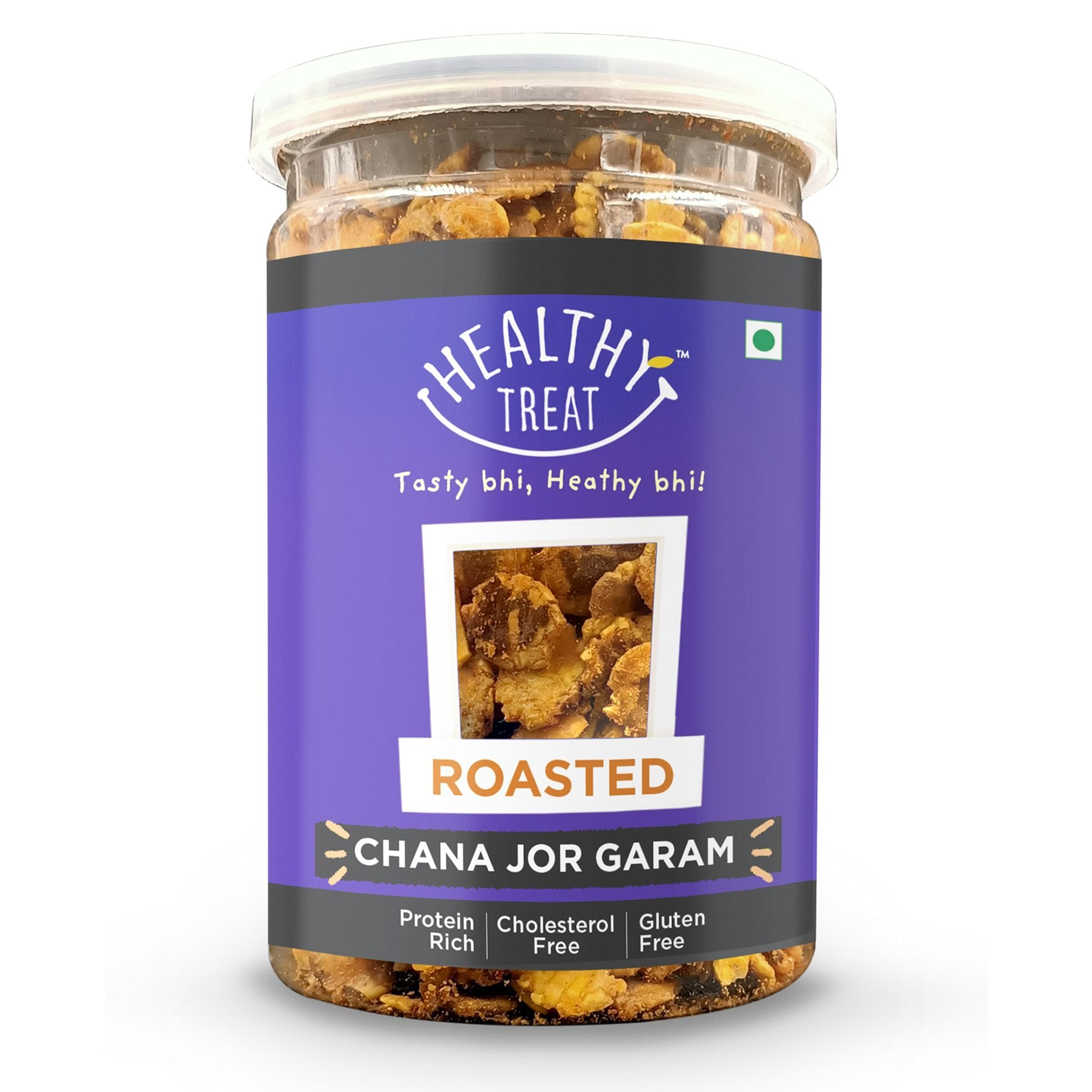 Roasted Chana Jor - 200 gm Jar
