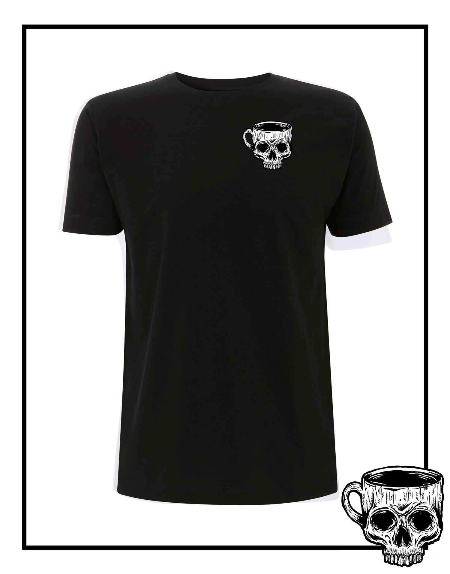 Death Cup T-Shirt T-Shirt - Burnt Coffee Clothing
