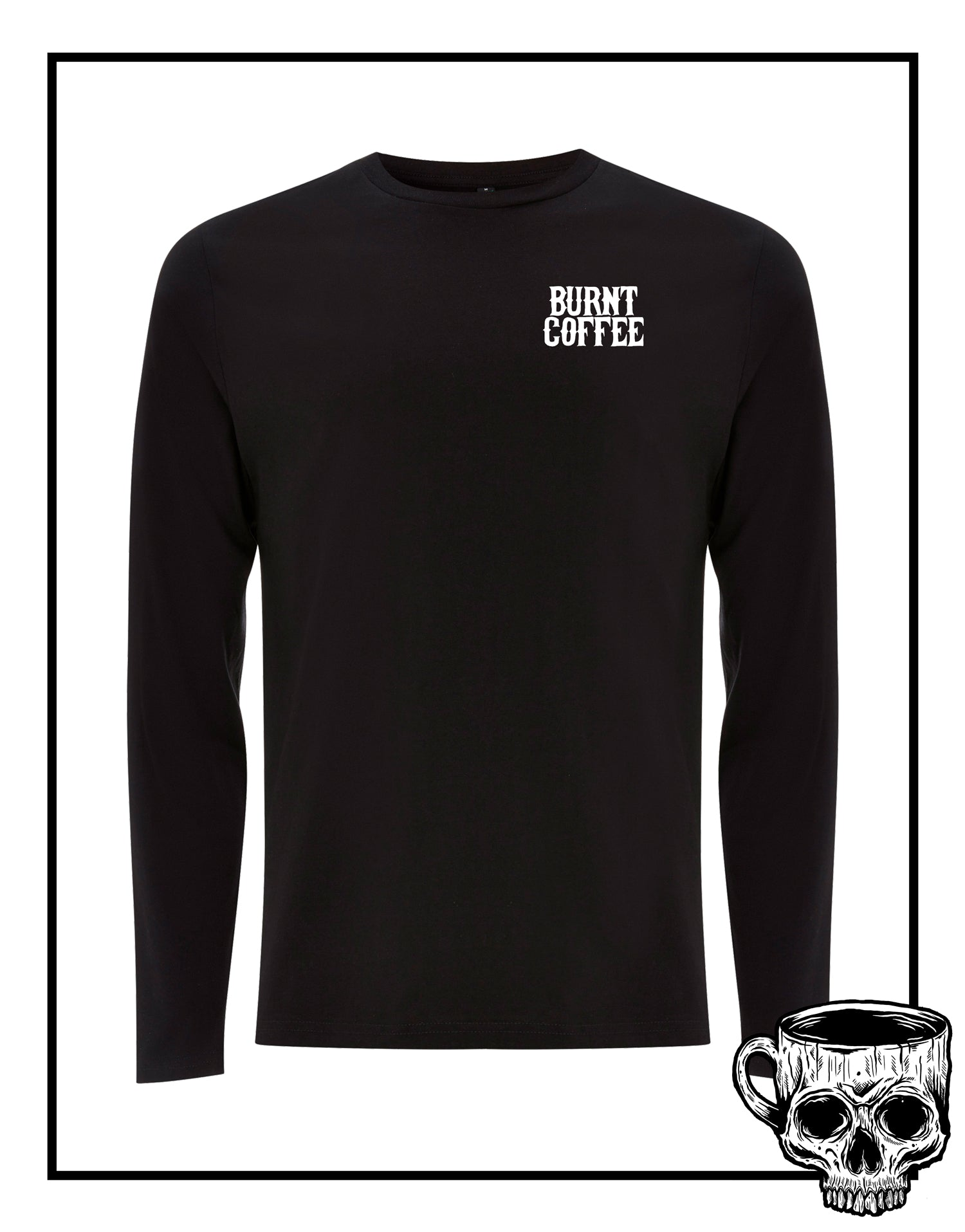 Bright Nights Long Sleeve T-Shirt - Burnt Coffee Clothing