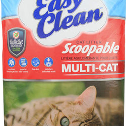 Easy Clean Multi-cat Scoopable Cat Litter
