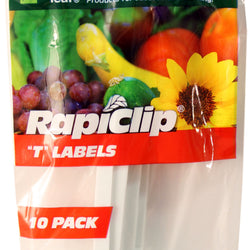Plastic T Labels