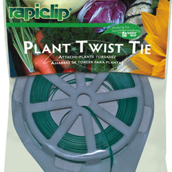 Plant Twist Tie With Cutter