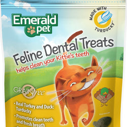 Emerald Pet Feline Dental Grain Free Treats