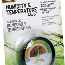 Humidity And Temperature Gauge