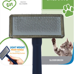 Tender Touch Slicker Wire Brush For Cats