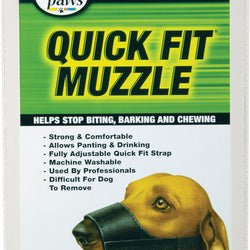 Quick Fit Dog Muzzle