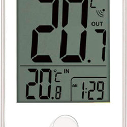 Digital Thermometer With Clock