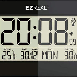 Digital Thermometer Wall Clock