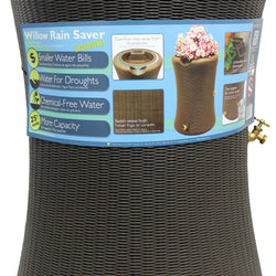 Impressions Willow Rain Barrel