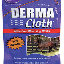Derma Cloth Rinse Free Cleaning Cloth For Wounds