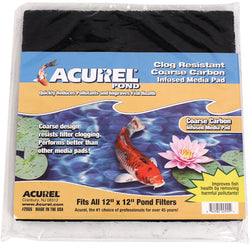 Acurel Pond Clog Resistant Infused Media Pad