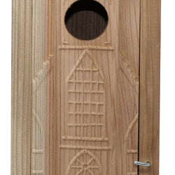Welliver Outdoors Carved Church Bluebird House