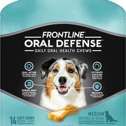 Frontline Oral Defense Daily Oral Health Chews