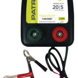 Patriot Pe5b Battery Operated Fence Energizer