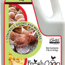 Fresh Coop Odor Control For Backyard Chickens